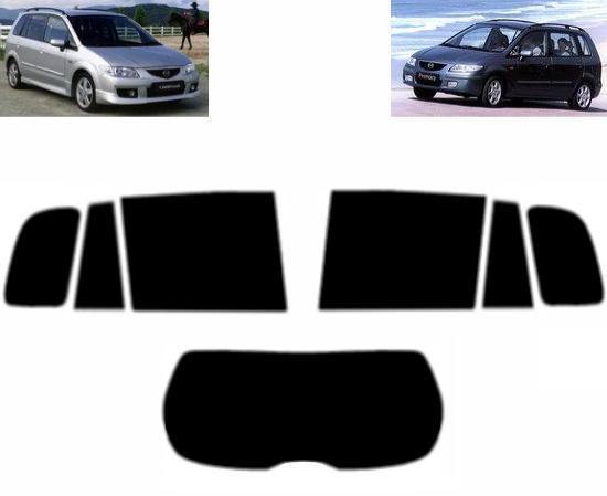 Teinte Film entièrement Compatible Noir Intense 95/% Mazda Premacy 1999-2005