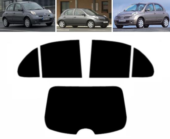 20/% Dark Smoke Tintcom.com Pre Cut Window Tint Nissan Qashqai 5-doors 2007-2013 Rear Kit
