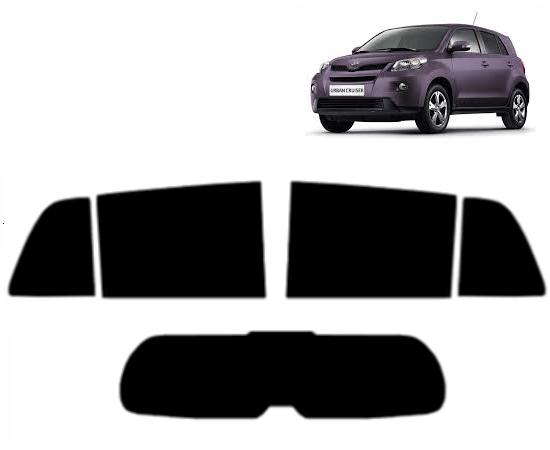 20/% Dark Smoke Toyota iQ 3-door Hatchback 2008 to 2015 Pre cut window tint Rear windows