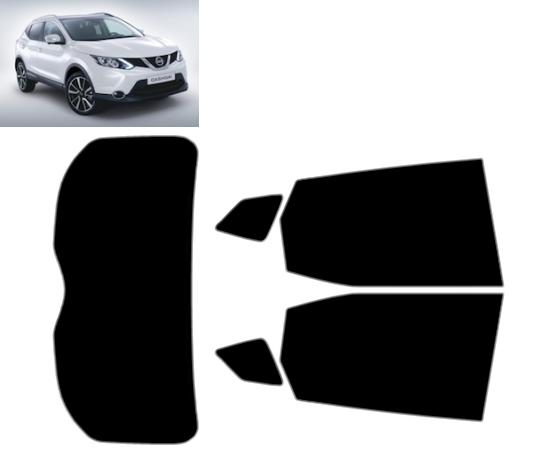 Rear Kit in 5/% Pre Cut Car Window Tints 2002-2006 Nissan X-Trail