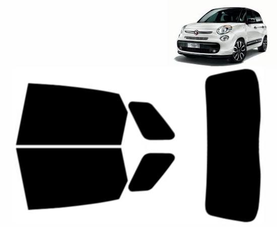 Pre cut window tint Fiat 500 3-door Hatchback 35/% Light Smoke Front windows 2007 and newer